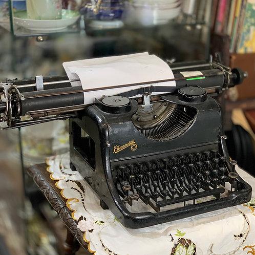 Печатная машинка Rheinmetall Borsig, Германия 1935-1937гг