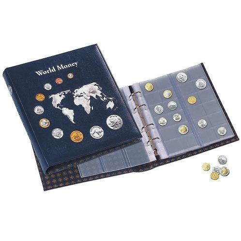 """Альбом для монет с листами """"World Money"""" в шубере, Германия"""