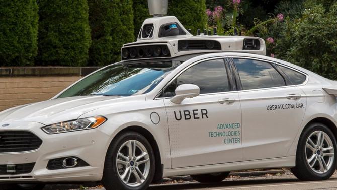 Uber Testa Carros Sem Motorista