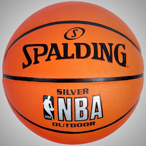 SPALDING NBA SILVER OUTDOOR No.7