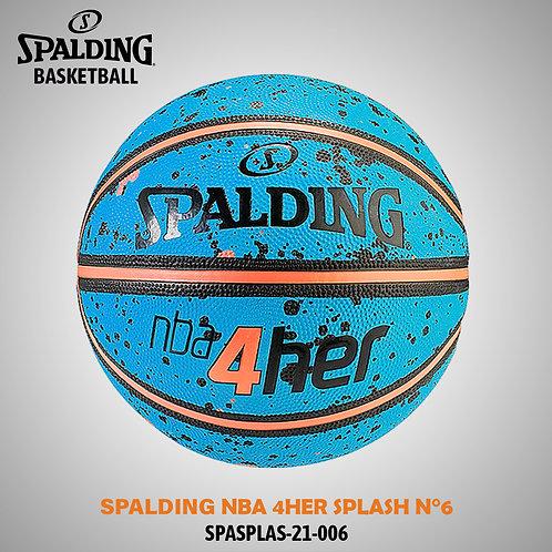 SPALDING NBA  4HER SPLASH N°6 SPASPLAS-21-006
