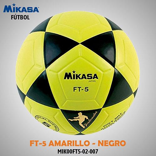 MIKASA FÚTBOL FT - 5   Amarillo/Negro  MIK00FT5-02-007