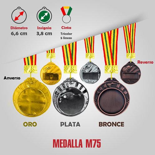 MEDALLA COD: M75 (CHA00075-50-00A)