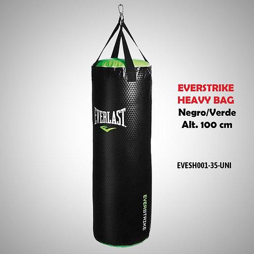 EVERLAST SACO EVERSTRIKE HEAVY BAG - NEGRO/VERDE SH00001 EVESH001-35-UNI