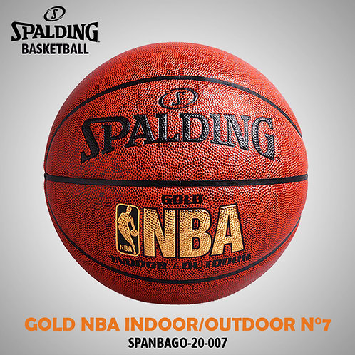 GOLD NBA INDOOR/OUTDOOR N°7 SPANBAGO-20-007