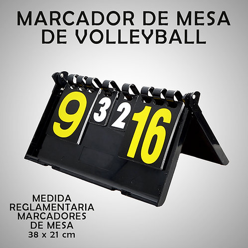 RAZZO MARCADOR DE MESA DE VOLLEYBALL (RAZHB810-30-UNI)