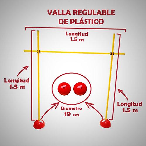 RAZZO VALLA REGULABLE DE PLÁSTICO (RAZ0VA01-01-UNI)
