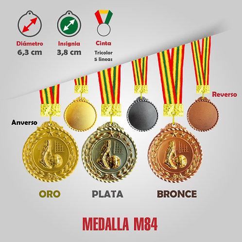 MEDALLA FÚTBOL COD: M84 (CHA00084-50-UNI)