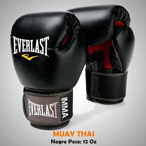 EVERLAST GUANTES BOX - MUAY THAI 12 OZ EVE07012-30-12O