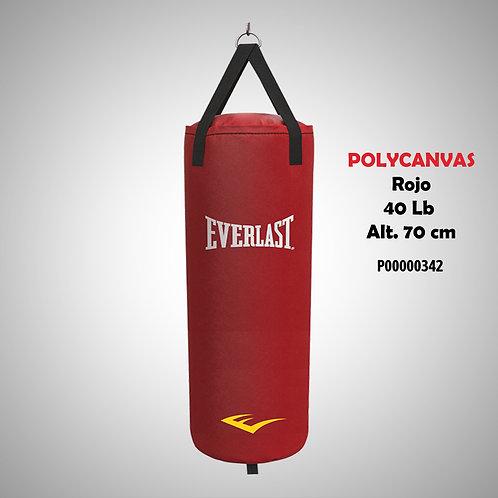 EVERLAST SACO POLYCANVAS 40LB ROJOP00000342