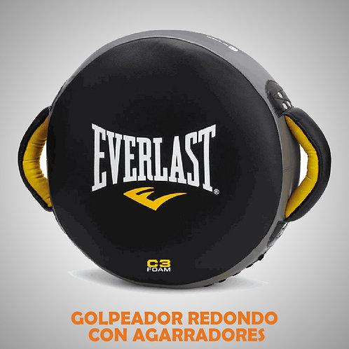 EVERLAST PUNCH SHIELD GOLPEADOR REDONDO CON AGARRADORES 531001