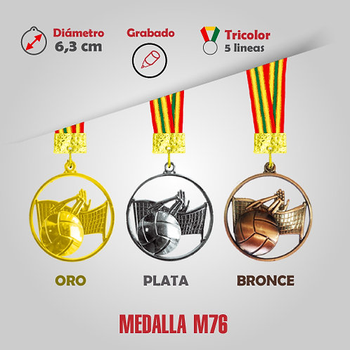 MEDALLA VOLEY COD: M76 (CHA00076-50-00A)