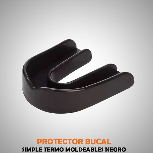 PROTECTOR BUCAL SIMPLE NEGRO EVE04405-30-UNI