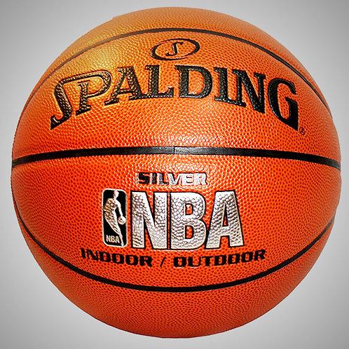 SPALDING NBA SILVER PRO INDOOR/OUTDOOR No.7