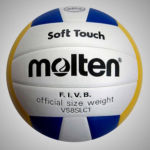 BALON VOLLEYBALL #5 SOFT TOUCH (MOLV58SL-12-005)