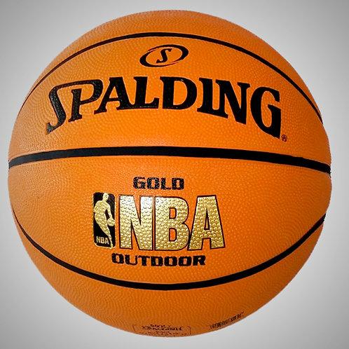 SPALDING NBA GOLD OUTDOOR No.7