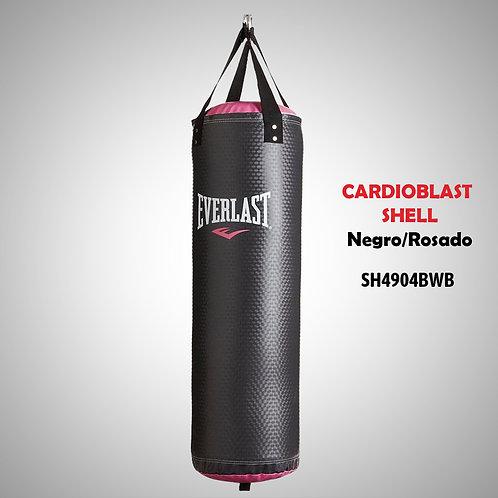 EVERLAST SACO CARDIOBLAST SHELL NEGRO /ROSADO 16 LB SH4904BWB