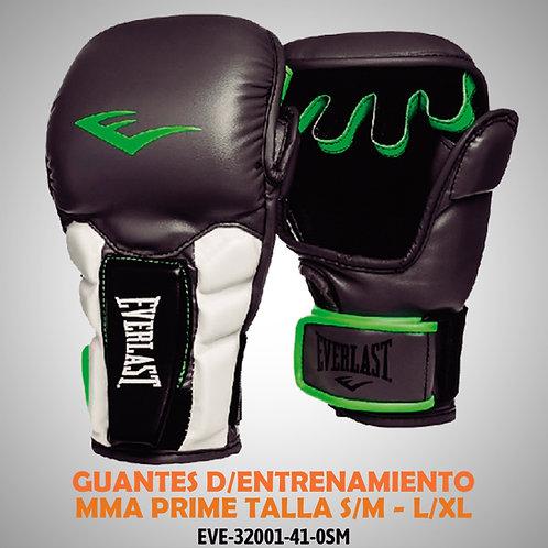GUANTES D/ENTRENAMIENTO MMA PRIME TALLA S/M - L/XL EVE-32001-41-0SM