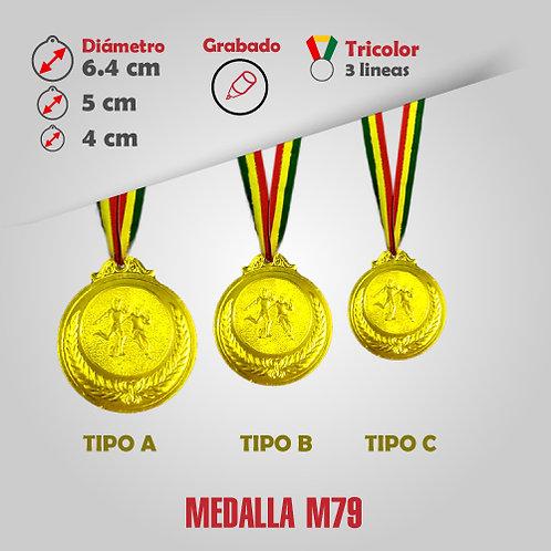 MEDALLA COD: M79 ( CHA00079-51-00A)