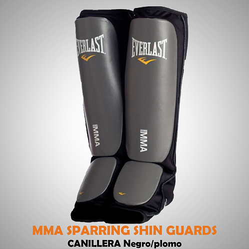 EVERLAST MMA SPARRING SHIN GUARDS CANILLERA NG/PL 7951BLXL
