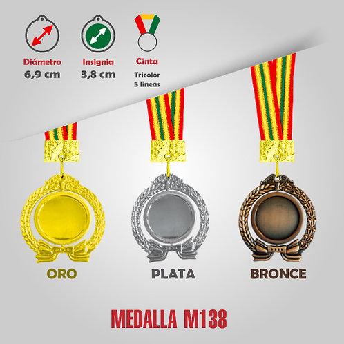 MEDALLA GIRATORIA COD: M138 (HA00138-50-UNI)