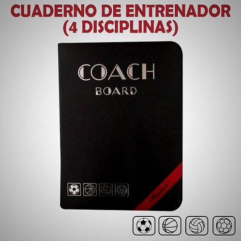 RAZZO CUADERNO DE ENTRENADOR (4 DISCIPLINAS) (AZ-0601B-49-UNI)