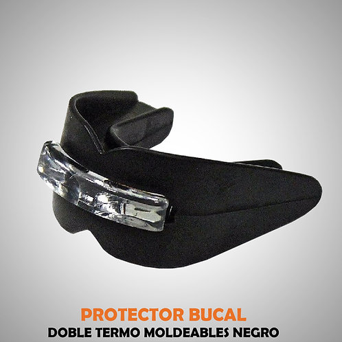 PROTECTOR BUCAL DOBLE NEGRO EVE04410-30-UNI