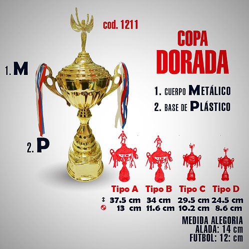 CHAMPION COPA METALICA COD: 1211