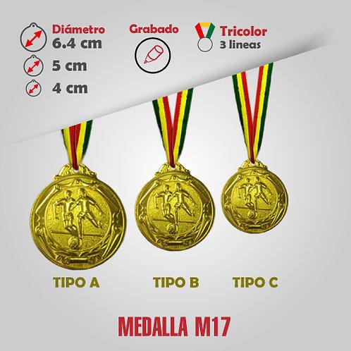 MEDALLA COD: M17 (CHA00017-51-00A)