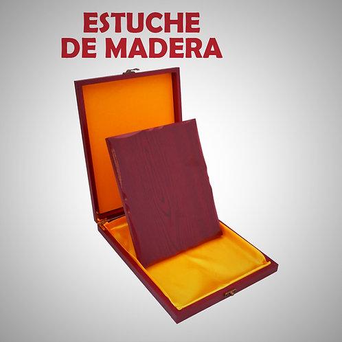 CHAMPION RECONOCIMIENTO DE MADERA EN ESTUCHE DE MADERA (GEN01520-20-UNI))