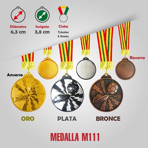 MEDALLA FÚTBOL COD: M111 (CHA00111-50-UNI)