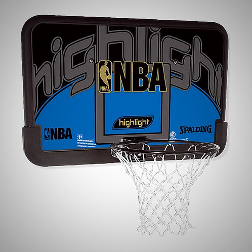 SET DE TABLERO ARO Y RED SPALDING HIGHLIGH COMBO 44 (80453CN)