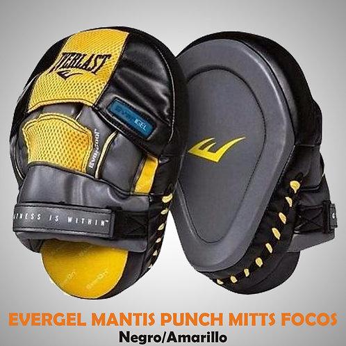 MANTIS PUNCH MITTS PAR AMARILLO FOCOS EVE04416-40-UNI