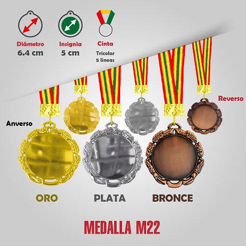 CHAMPION MEDALLA COD: M22