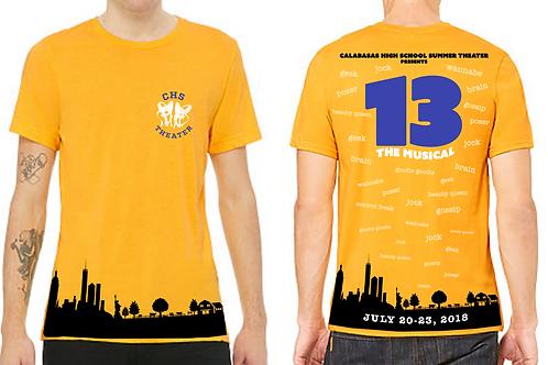13, The Musical T-Shirt