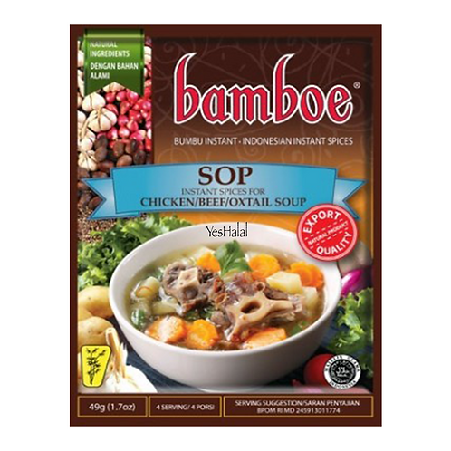 Bamboe SOP (Indonesia, 49g)