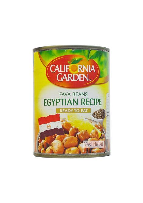 California Garden - Fava Beans Egyptian Recipe