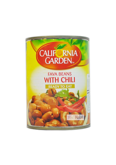 Californiagarden - Fava Beans with Chili (UAE, 400g)