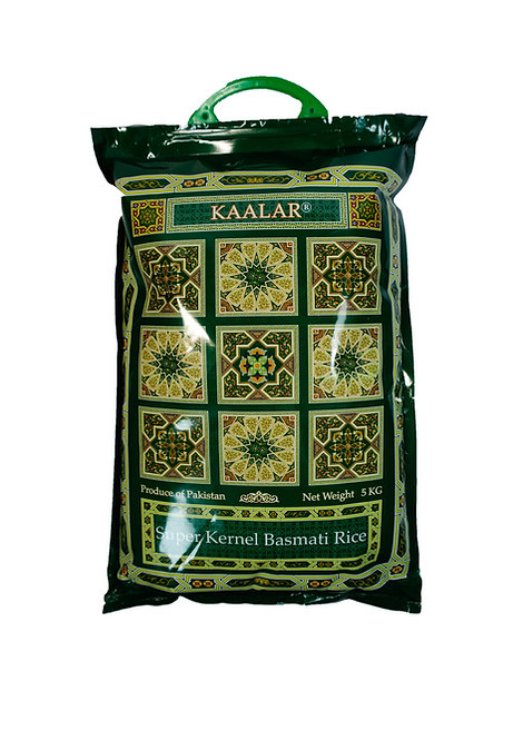 Basmati Kernel Rice (Pakistan, KAALAR, 5kg)