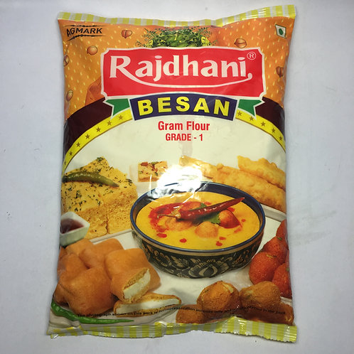 Gram Flour/Chickpea Flour/Besan (Rajdhani) - 1Kg