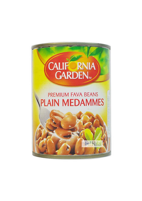 California Garden - Premium Fava Beans Plain Medammes