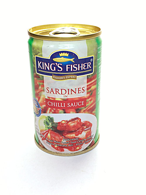 King's Fisher sardines in Chilli Sauce