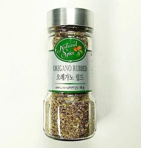 Natural Spices Oregano Rubbed