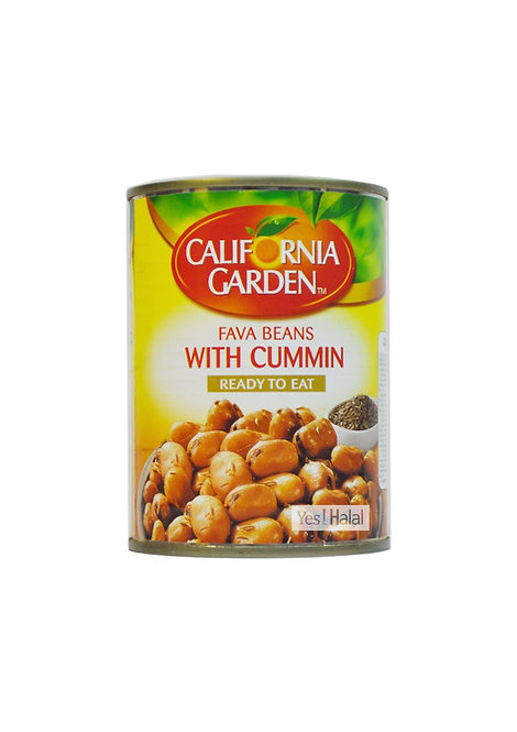 California Garden - Fava Beans with Cumin (UAE, 400g)