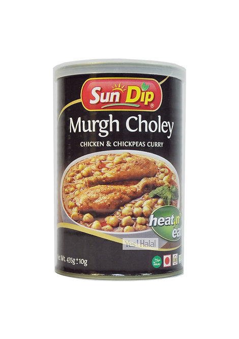 Murgh choley