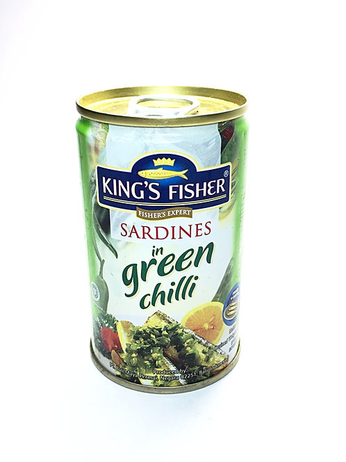 King's Fisher Sardines in Green Chilli