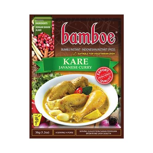 Bamboe Kare /  Indonesian Javanese Curry (Indonesia, 36g)