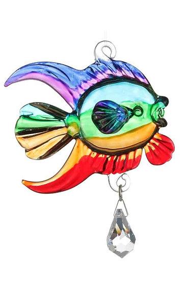 Coral Fish (rainbow) Fantasy Glass