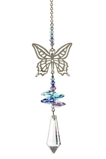 Butterfly Fantasy Window Crystal