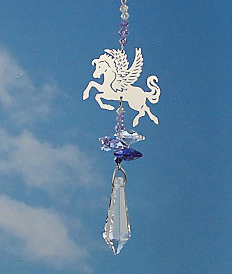 Pegasus Fantasy Window Crystal